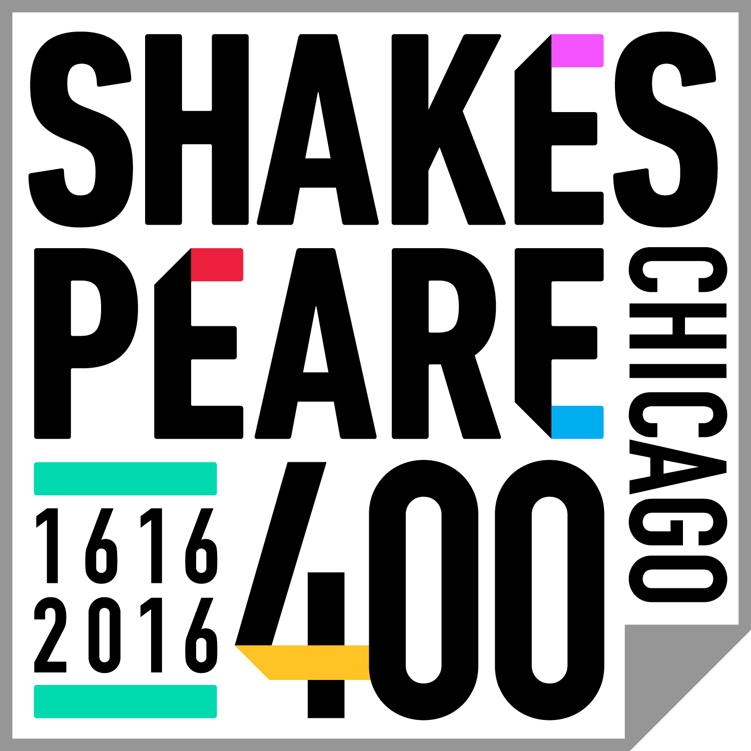 Shakespeare 400 logo