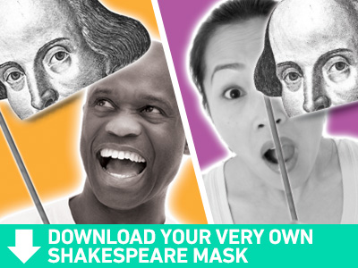 DIY Shakespeare Mask